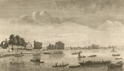 View Of Hammersmith Looking Down The Thames, John Boydell, 1752